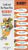 1950´s J Bibby Advertising Bookmark Clozone Soap Carbolic Glee Pat Araby Cidal Replica - Bookmarks