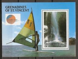 SCOUTS - GRENADINES & SAINT VINCENT 1991 - Yvert #H59 - MNH ** - Movimiento Scout