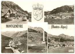 MONTGENEVRE Multivues Blason (CIM) Hautes Alpes (05) - France