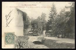 CPA PRECURSEUR- FRANCE- ALZAU (11)- NAISSANCE DE LA RIGOLE DU CANAL- PONT- VANNE- MONUMENT- ANIMATION- ATTELAGE - Frankreich