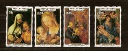Aittutaki 1986 Yvertn° 442-445 *** MNH Cote 12 Euro Noel Christmas Kerstmis Dürer - Aitutaki