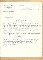 44    SAINT  NAZAIRE   IDEAL  RADIO   RENE  MERAND  9  RUE  DE  SAILLE   TSF  ELECTRICITE - 1900 – 1949