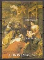 PINTURA/RUBENS - GUAYANA 1988 - Yvert #H15 - MNH ** - Rubens
