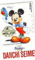 Télécarte Japon DISNEY  (4194) PHONECARD JAPAN * TELEFONKARTE * 110-53536 * INSURANCE - Disney