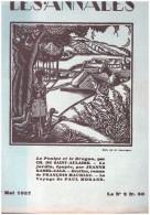 Les Annales Mai 1927 Pub Camionnette Unic,  Dessinde  Jean Loup, Bois De Sauvayre Cyclisme - Journaux - Quotidiens