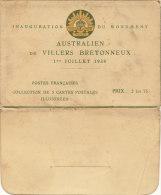 Inauguration Du Monument  Australien De VILLERS BRETONNEUX   Le 1er Juillet 1938 - Villers Bretonneux