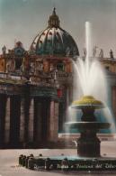 Italia--Roma--Vaticano--Piazza Di S.Pietro E Fontana Del Diluvio - Vaticano (Ciudad Del)
