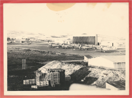 Photo Originale - Format 13 X 18 - Aéroport + Avions à Localiser - 2 Scans - Luchtvaart