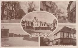 FAVERSHAM VG 1945 X CRAVEN ARMS SHROPSHIRE - Shropshire