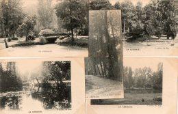 51  Parc Du Château De LA CERISAIE. Lot 5 Cpa Différentes - France