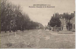 Champagnole - Fontaine Blanche Et Boulevard - Champagnole
