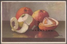 Illustrateur A-F BONNARDEL-- FRUITS --POMMES - Illustrateurs & Photographes