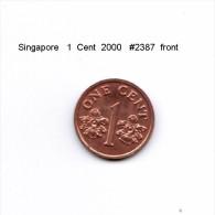 SINGAPORE    1  CENT  2000  (KM # 98) - Singapore