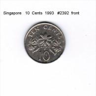 SINGAPORE    10  CENTS  1993  (KM # 100) - Singapore