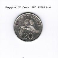 SINGAPORE    20  CENTS  1997  (KM # 101) - Singapore