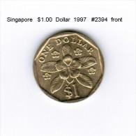 SINGAPORE    $1.00  DOLLAR  1997  (KM # 103) - Singapur
