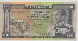ETHIOPIA P. 29a 100 D 1966  XF/AU - Ethiopie
