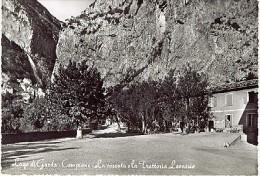 CAMPIONE LAGO DI GARDA - TRATTORIA LEONESIO LA CASCATA 1958  Brescia - Brescia