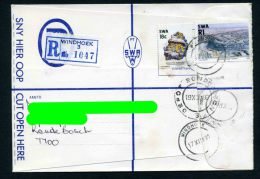 SWA 1990 (u) Registered Cover - 1990 Reprint Boltwoodite - Minerals