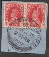 Viceroy Camp PO - Postal Mark  Scarce Hard To Find  Inde Indien - India (...-1947)