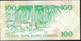VANUATU  P1   100  VATU    1982   Serie AA    UNC. - Vanuatu