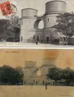 2  CPA  -  BLOIS  (41)  Le Reservoir Des Eaux   -  1 Carte Abimée, Tachée. - Blois