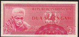 INDONESIA   P75   2 1/2     RUPIAH    1956     XF - Indonesia