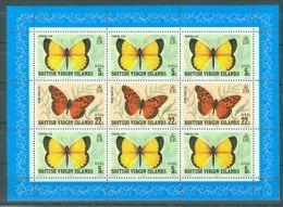 British Virgin Islands - 1978 Butterflies Kleinbogen MNH__(THB-25) - British Virgin Islands