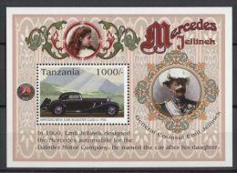 Tanzania - 1996 Mercedes Benz Block MNH__(TH-12748) - Tanzania (1964-...)