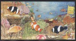 Thailand - 2006 Fishes Overprint Block MNH__(THB-3228) - Thailand