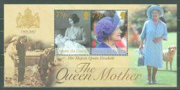 Tristan Da Cunha - 2002 Queen Mother Block MNH__(TH-8566) - Tristan Da Cunha