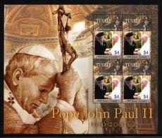 Tuvalu - 2005 Death Of John Paul II Kleinbogen MNH__(THB-3077) - Tuvalu