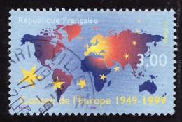 FRANCE  1999   -  Y&T  3233   - Conseil De L'Europe  -  Oblitéré - Gebraucht