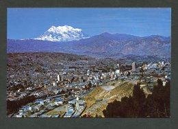 La Paz - Bolivie - Mont Illimani - Bolivie