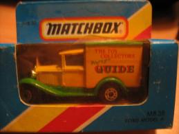 MATCHBOX 38 FORD MODEL A VAN - Matchbox