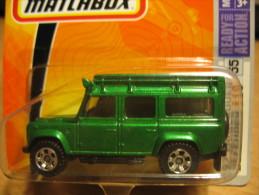 MATCHBOX 55 LAND ROVER DEFENDER 110 - Matchbox