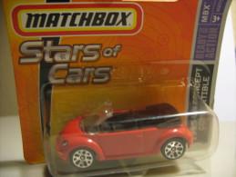 MATCHBOX STARS OF CARS VOLKSWAGEN CONCEPT CONVERTIBLE 1995 - Matchbox