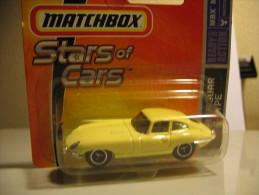 MATCHBOX STARS OF CARS JAGUAR E-TYPE 1961 - Matchbox