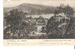 Lindisfarne, Near Hobart, Tasmania  A Small Break On Top And Bottom - Hobart