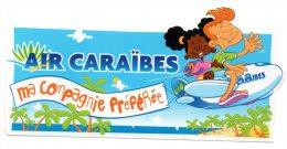 AIR CARAIBES - MA COMPAGNIE PREFEREE - - Autocollants
