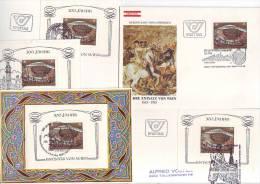 """1150l: Austria Lot """"Türkenbelagerung 1683- 1983"""" - Turquía"""