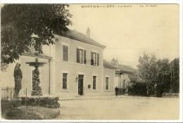 Carte Postale Ancienne Montier En Der - La Gare - Chemin De Fer - Autres Communes