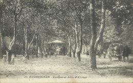 Draguignan - Kiosque Et Allée D´Azemar -1917 ( Voir Verso ) - Draguignan