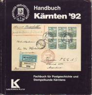 """Handbuch Zur """"Kärnten 1992"""", Gebraucht, Längst Vergriffen- Postgeschichte Kärnten - Handbücher"""