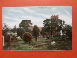 26934 PC: DURHAM: The Parish Church, BISHOP AUCKLAND. (Postmark 1904). - Durham