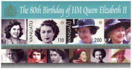 Vanuatu / The 80th Birthday Of HM Queen Elizabeth II - Vanuatu (1980-...)