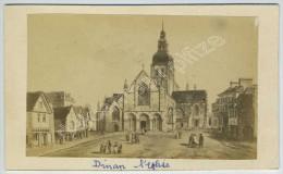 2 CDV 1860-70 E. Morier, Paris, D'après Gravures Sur Dinan. - Photos