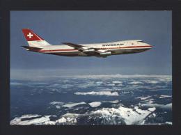 CPM Avion SWISSAIR Jumbo-Jet / Boeing 747-B / Avion De Ligne - Réf A2635 - 1946-....: Moderne