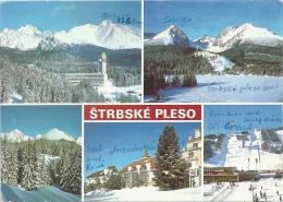MBK CSSR Hohe Tatra High Tatras Strbske Pleso, 1989 Postalisch Nach Freiburg, Nachträglich Entwertet, Michel 2899 - Tchéquie