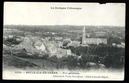 Cpa Du 22  Belle Ile En Terre Vue Générale  6ao28bis - France